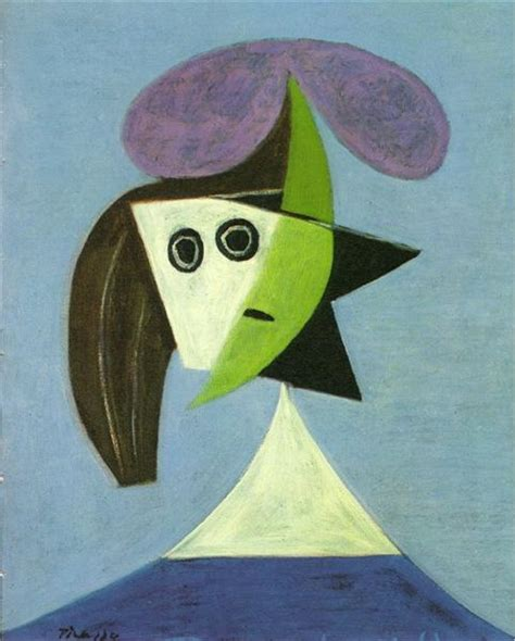 picasso paintings copyright with hat olga pablo picasso wikiart org