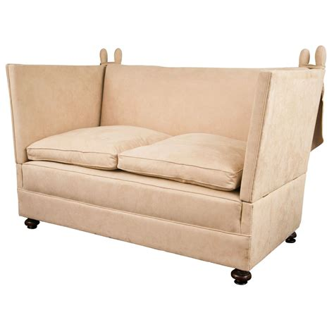 knole settee english knole sofa for sale at 1stdibs