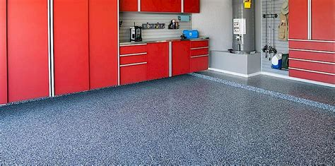 decorative chip epoxy garage floors  coatings