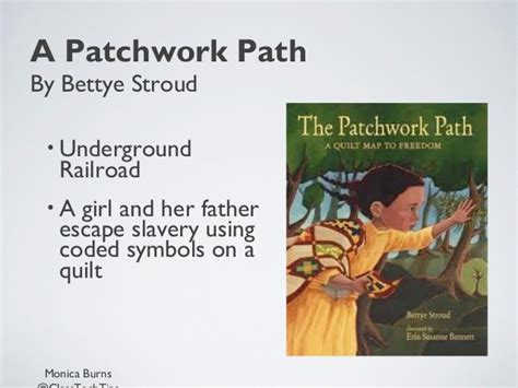Patchwork Path - historical fiction read alouds