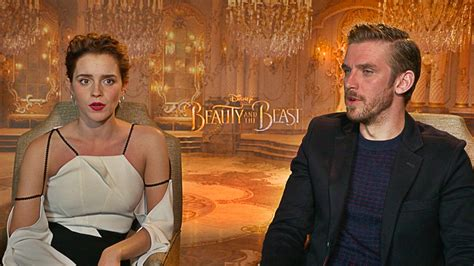 and the beast 2017 cast watch the beauty and the beast cast reveal their first
