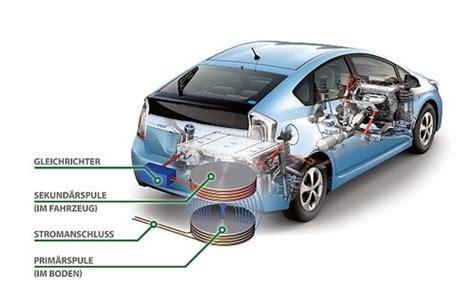 Brennstoffzelle Für Auto by Aufladen Der Elektroautos Durch Induktion Toyota Testet