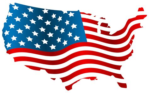 america map transparent usa flag map png clip image gallery yopriceville