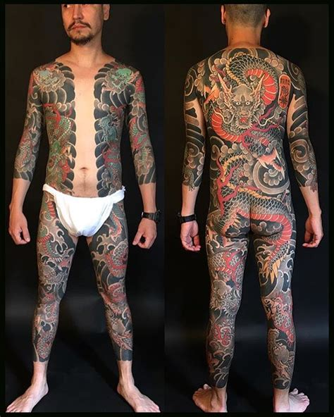 yakuza tattoo full body japanese bodysuit pinterest irezumi tattoos