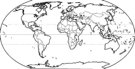 world map with countries coloring page www imgkid com