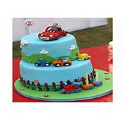 2 Year Old Birthday Cake For Boy  A