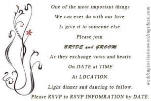 wedding invitation wording casual casual wedding invitation wording gangcraft net