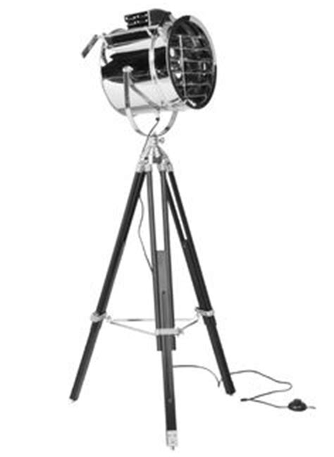 Royal Marine Tripod Floor L by Royal Marine Tripod Floor L Polished Aluminum