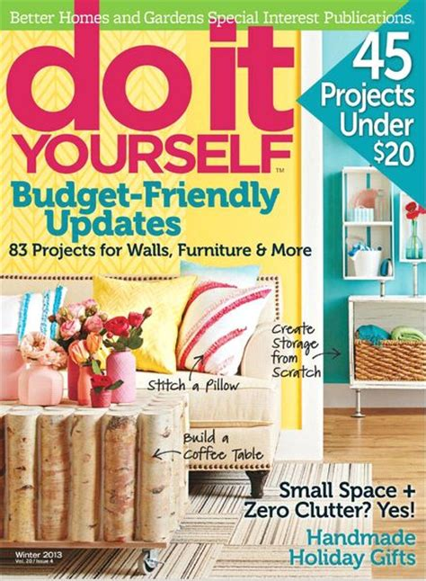 do it yourself magazine do it yourself magazine winter 2013 pdf magazine