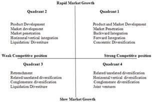 qspm matrix template image gallery strategy matrix