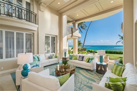 oceanfront home  honolulu  stunning architectural