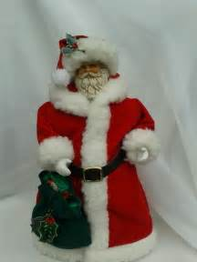 santa claus tree decorations 11 inch vintage premier santa claus