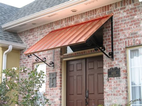 copper window awning copper awnings