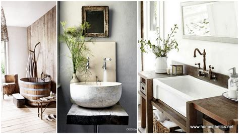 Bathroom Inspiration Ideas | 17 rustic and natural bathroom inspiration ideas
