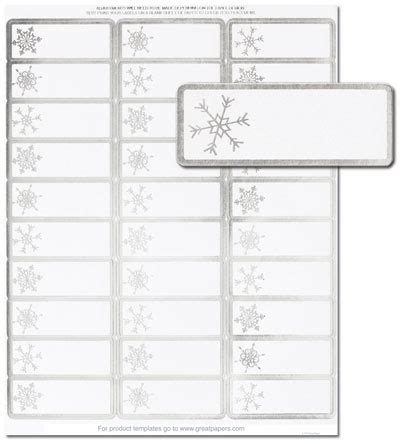 Christmas Address Labels Templates Happy Holidays Address Label Templates