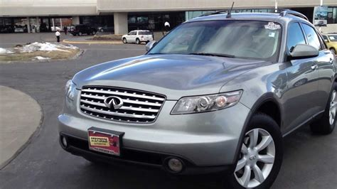 Sold 2005 Infiniti Fx35 Luxury Suv For Sale Denver Co