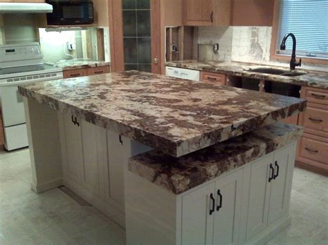 Leather Granite Countertops Pictures by Granite Countertops With Custom Leather Finish