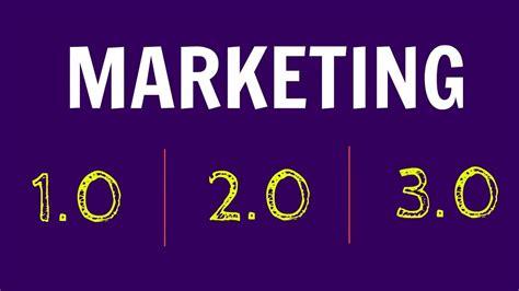 Marketing 3 In 1 L 191 qu 233 es el marketing 3 0