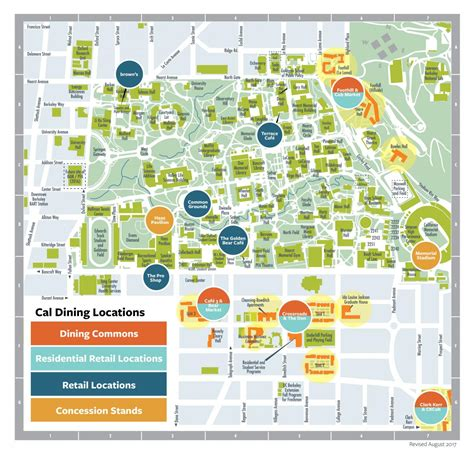 uc berkeley cus map map caldining
