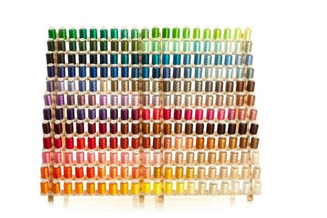 embroidex color chart embroidex 260 spools polyester embroidery machine thread