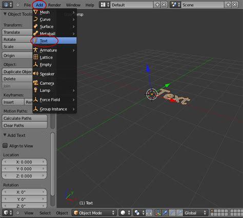 video tutorial blender membuat rumah membuat variasi teks dengan blender cgrafis tutorial