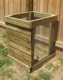 Plastic Rabbit Hutches Diy Compost Bin Ideas