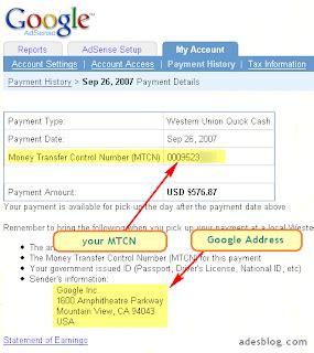 adsense withdraw malaysia withdraw google adsense earnings through western