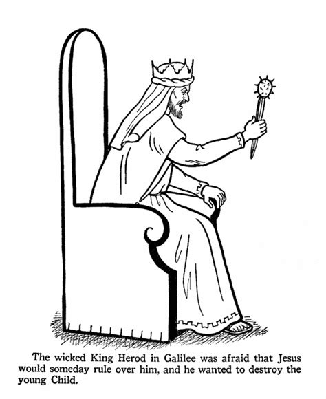 bible king coloring page king herod coloring page day 8 mystery of history i