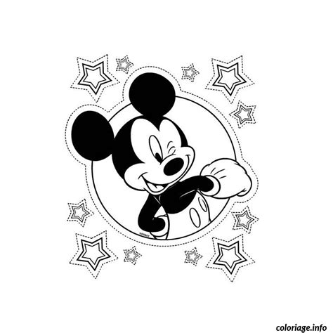 Coloriage Mickey Mouse Dessin