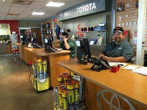 Maita Toyota Service Parts Center Maita Toyota