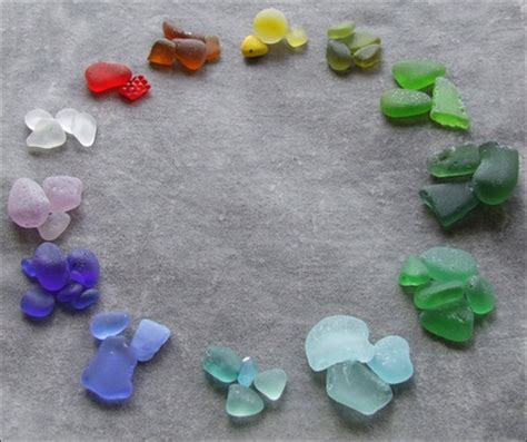 out of sea glass sea glass diamonds shaped by the waves