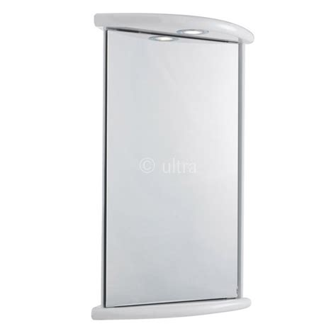 Corner Mirror Cabinet With Light by Ultra Niche Corner Mirror Cabinet With Light