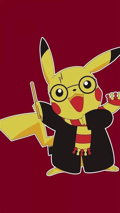 pokemon pikachu harry potter wallpaper