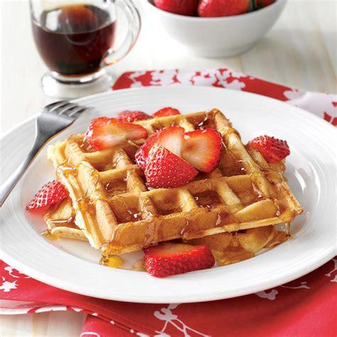best belgian waffle recipe true belgian waffles recipe taste of home