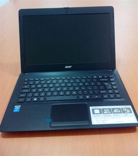 Laptop Acer Z1402 C4d6 jual harga turun acer z1402 34lj i3 4gb 500gb baru laptop acer harga spesifikasi
