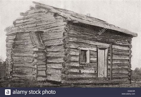 the evidence that abraham lincoln was not born in lawful wedlock or the sad story of nancy hanks classic reprint books one room one window dirt floor log cabin at sinking