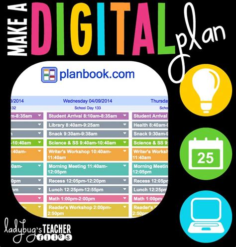 digital lesson plan template 17 best ideas about lesson plan books on
