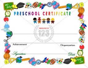 preschool certificate templates the gallery for gt school certificate backgrounds