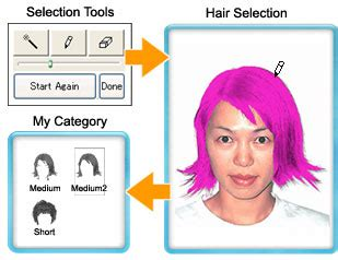 Change My Hairstyle by Hair Style Sofware And Color Simulation Software Quot Change