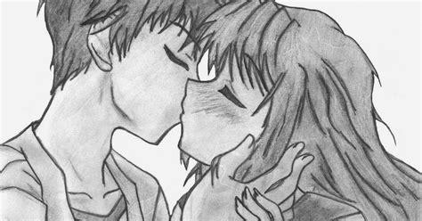 imagenes para dibujar a lapiz de anime amor dibujos de amor dibujo de amor anime