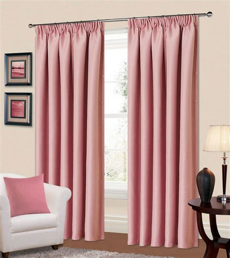 Blackout Polyester Fabric Purple Color Best Bedroom Curtains Rooms