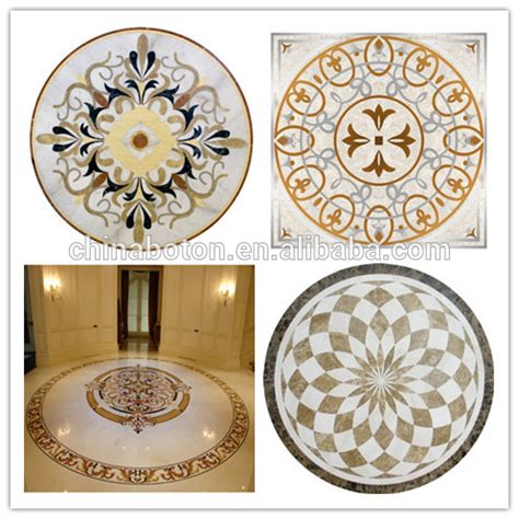 flower design floor tiles top grade natural marble floor medallion mosaic floor tile