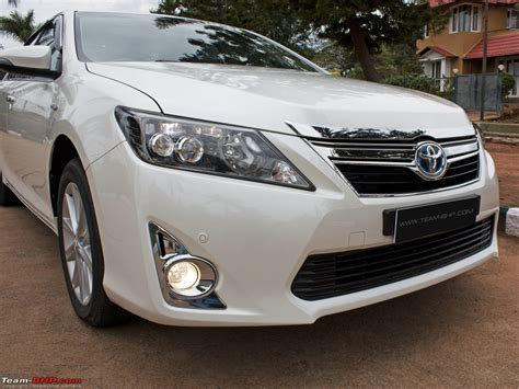Toyota Camry India Toyota Camry Hybrid Official Review Team Bhp