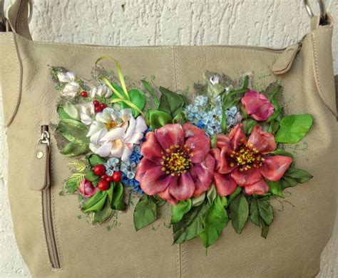 Per Unas Silk Floral Handbag by Oltre 25 Fantastiche Idee Su Fiori Di Nastro Su
