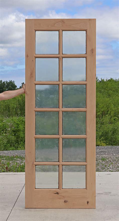 12 Lite Exterior Door 12 Lite Exterior Knotty Alder Door