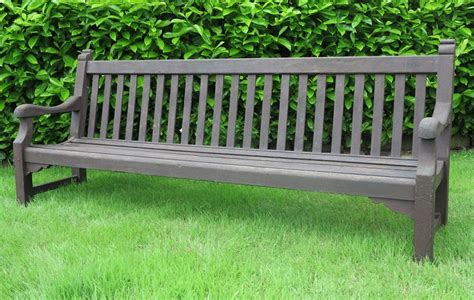 large outdoor bench large vintage teak garden outdoor bench