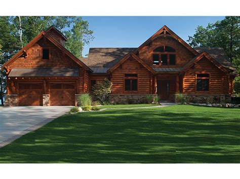 eplans log cabin house plan 5140 square and 5