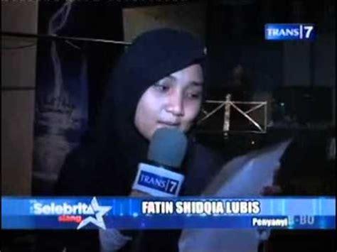 Fatin Hold Me Lagu Terbaru | fatin rekaman lagu baru selebrita siang 29 agustus 2013