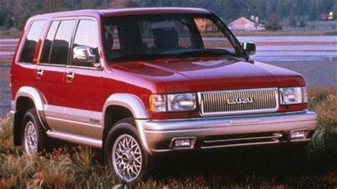 how petrol cars work 1997 isuzu trooper interior lighting six forgotten isuzus isuzu cars you may have forgotten