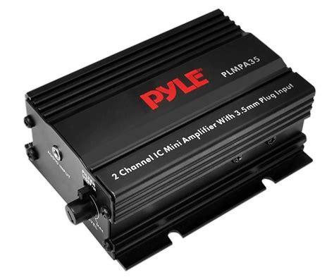 pyle plmpa35 2 channel car lifier 300 watt mini